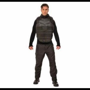 Punisher adult deluxe costume size standard